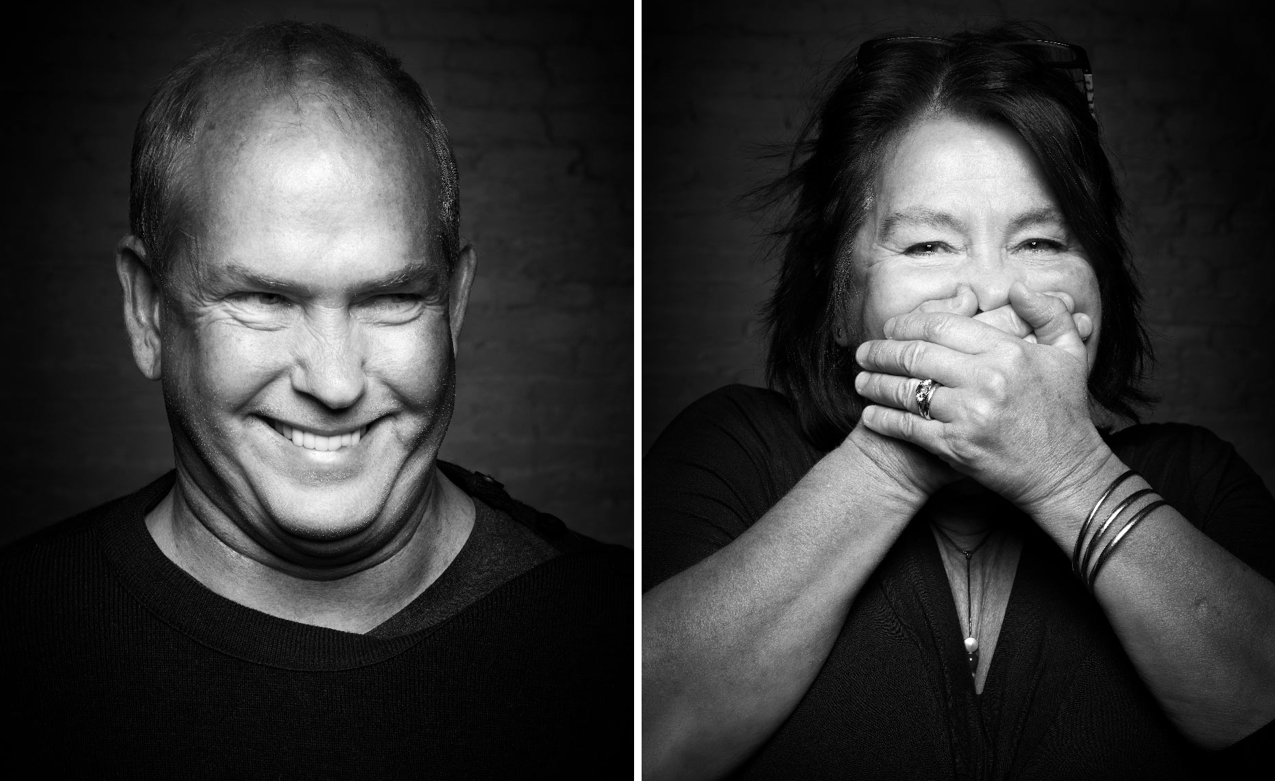 Speak No Evil B&W Editorial Portraits Carl-and-Nicola-Portraits-Greg-Anthony-Photographer