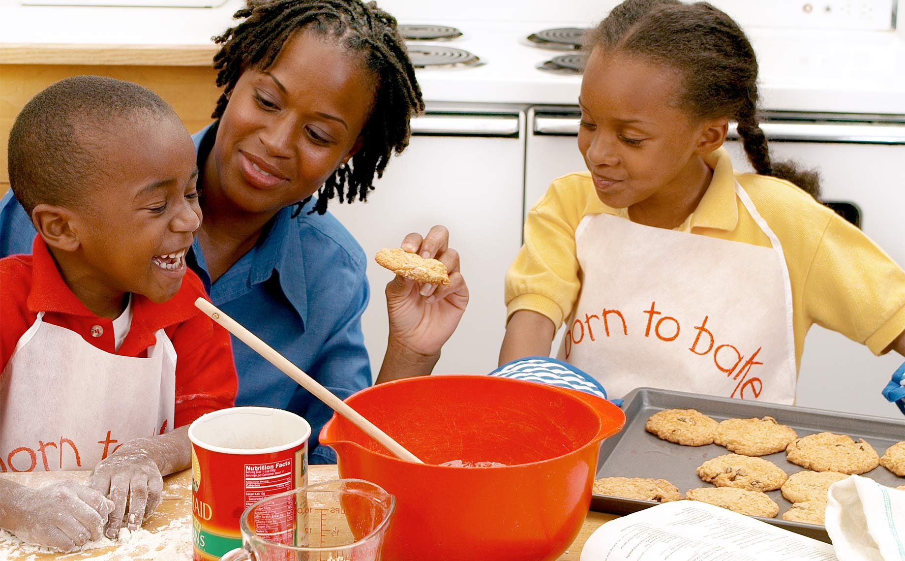 Mom Making Cookies with Kids, Commercial Photographer Greg Anthony Boston MA